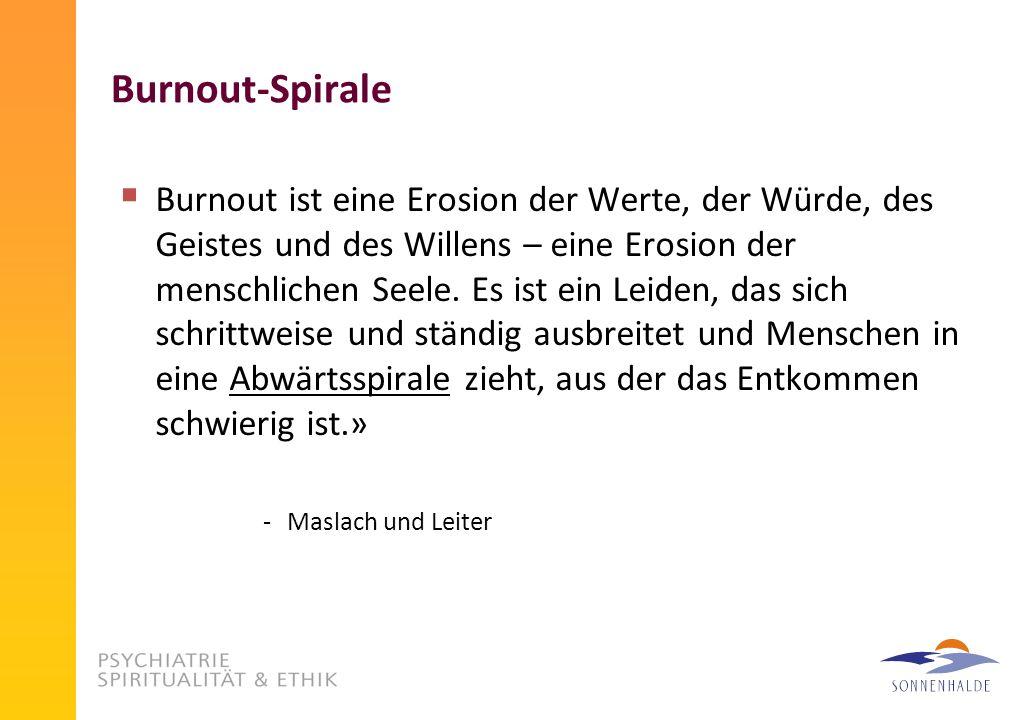 Burnout-Spirale