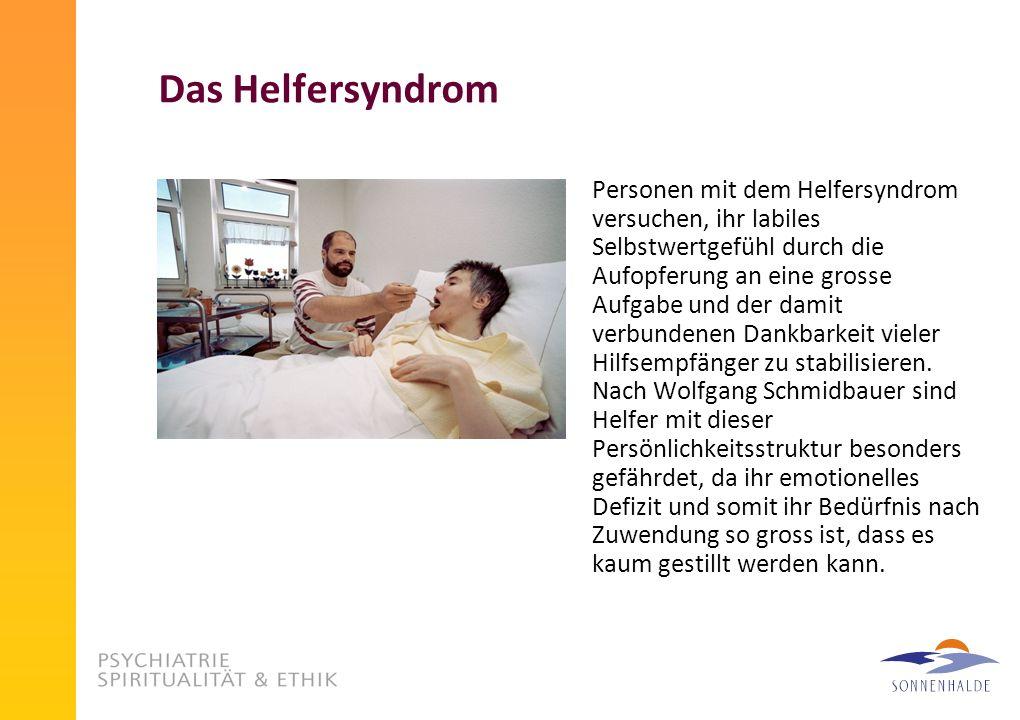 Das Helfersyndrom
