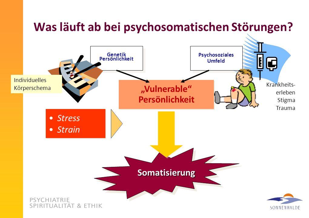 Was läuft ab bei psychosomatischen Störungen