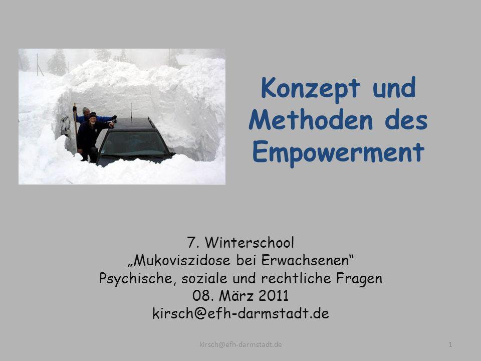 Konzept und Methoden des Empowerment
