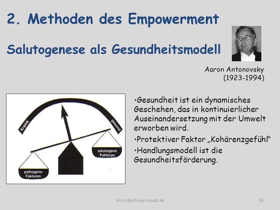 2. Methoden des Empowerment