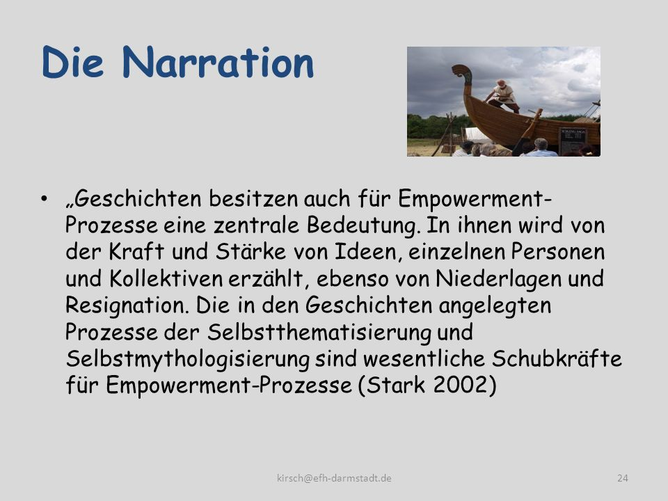 Die Narration