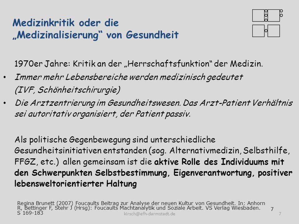"""Medizinkritik oder die """"Medizinalisierung von Gesundheit"""