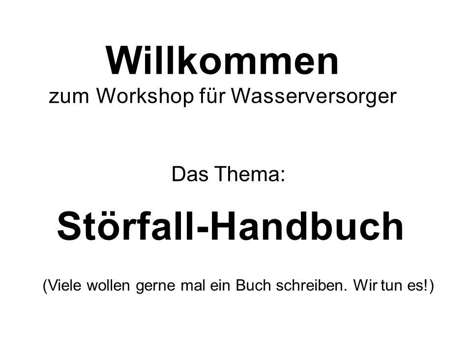 Willkommen Störfall-Handbuch