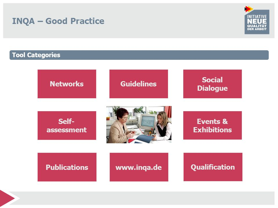INQA – Good Practice Networks Guidelines Social Dialogue Self-