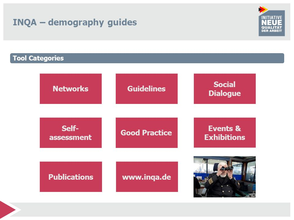 INQA – demography guides