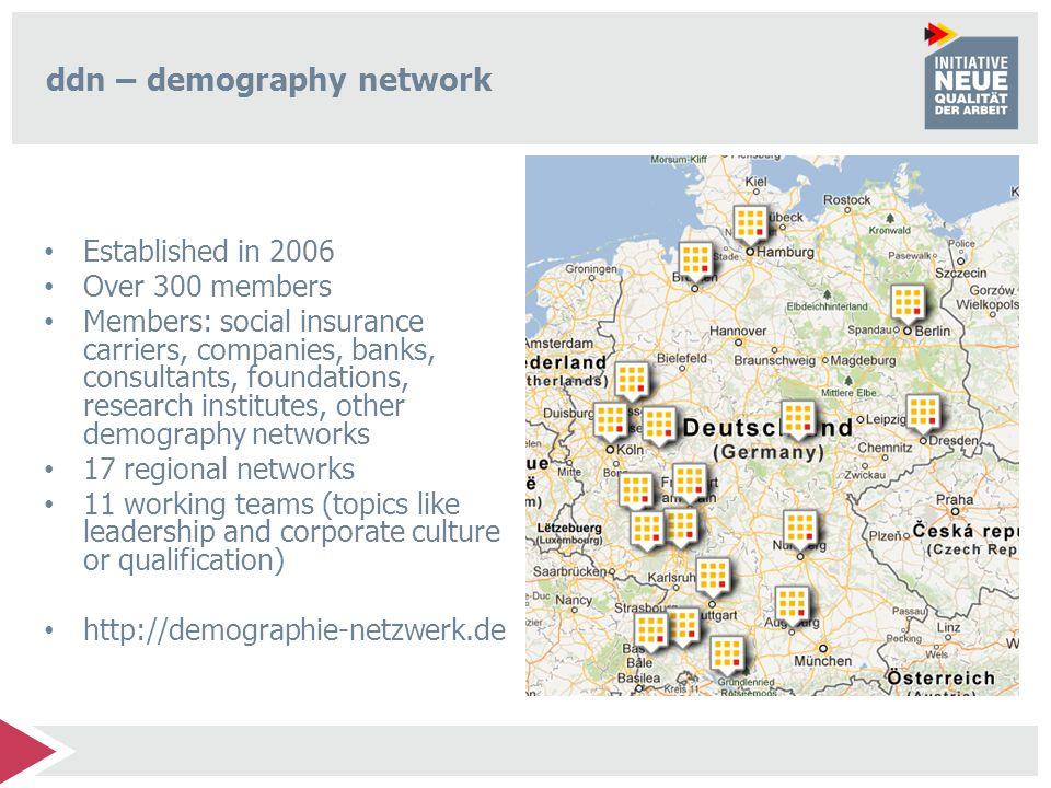 ddn – demography network