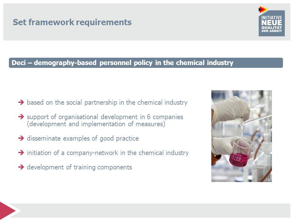 Set framework requirements