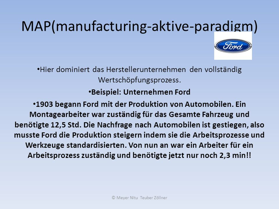 MAP(manufacturing-aktive-paradigm)