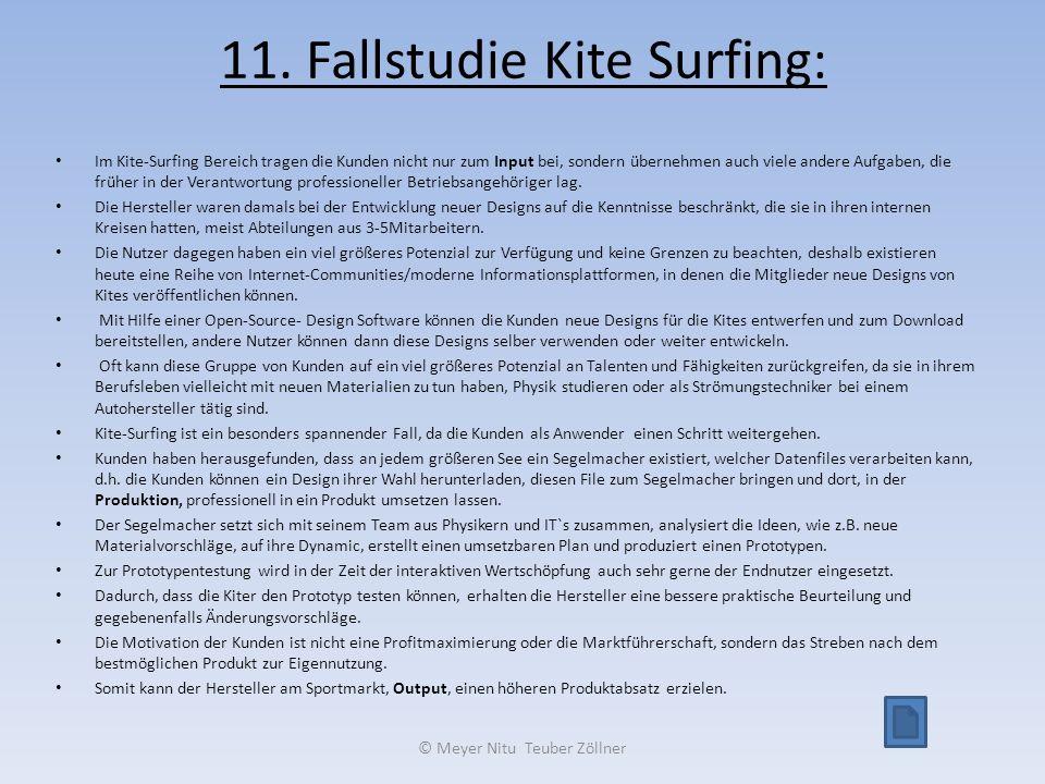 11. Fallstudie Kite Surfing: