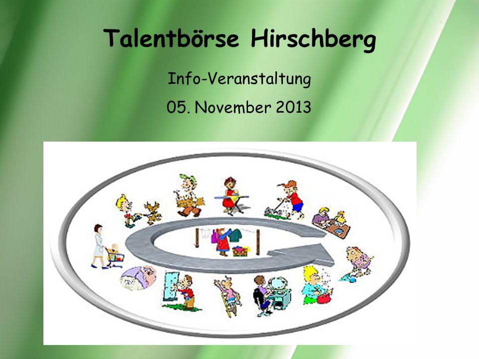 Talentbörse Hirschberg
