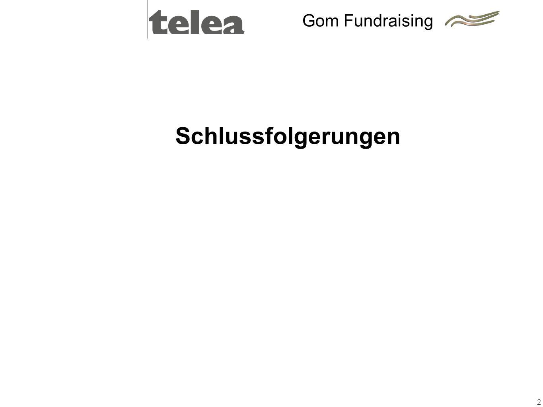 Gom Fundraising Schlussfolgerungen 2