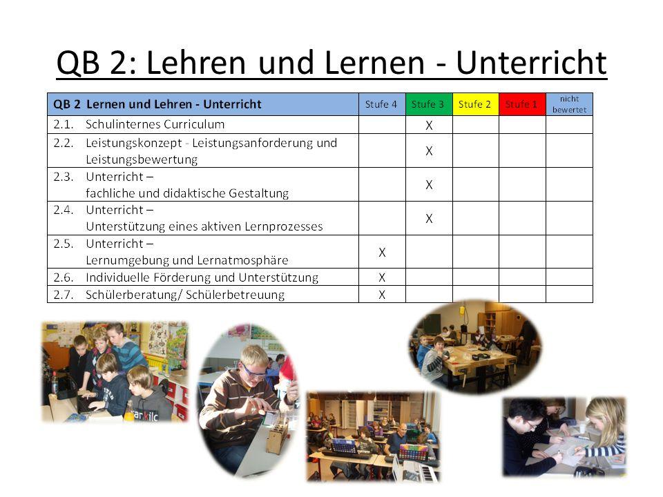 QB 2: Lehren und Lernen - Unterricht
