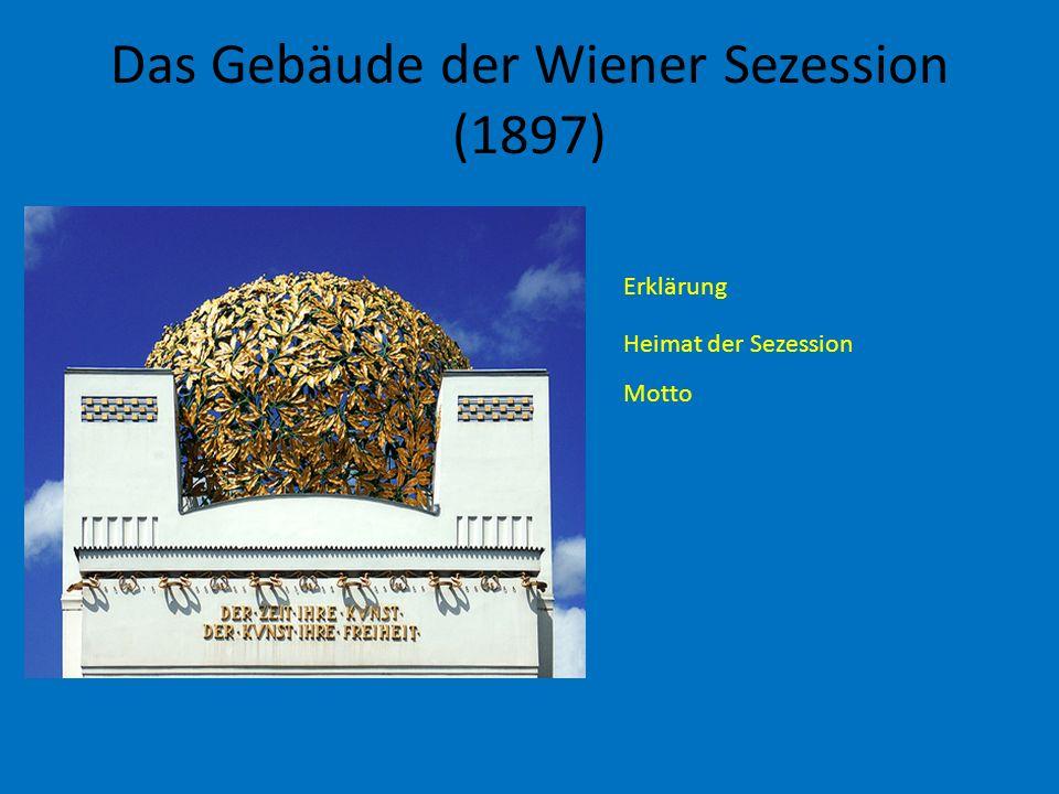 Das Gebäude der Wiener Sezession (1897)