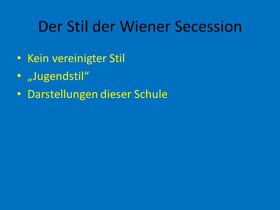 Der Stil der Wiener Secession