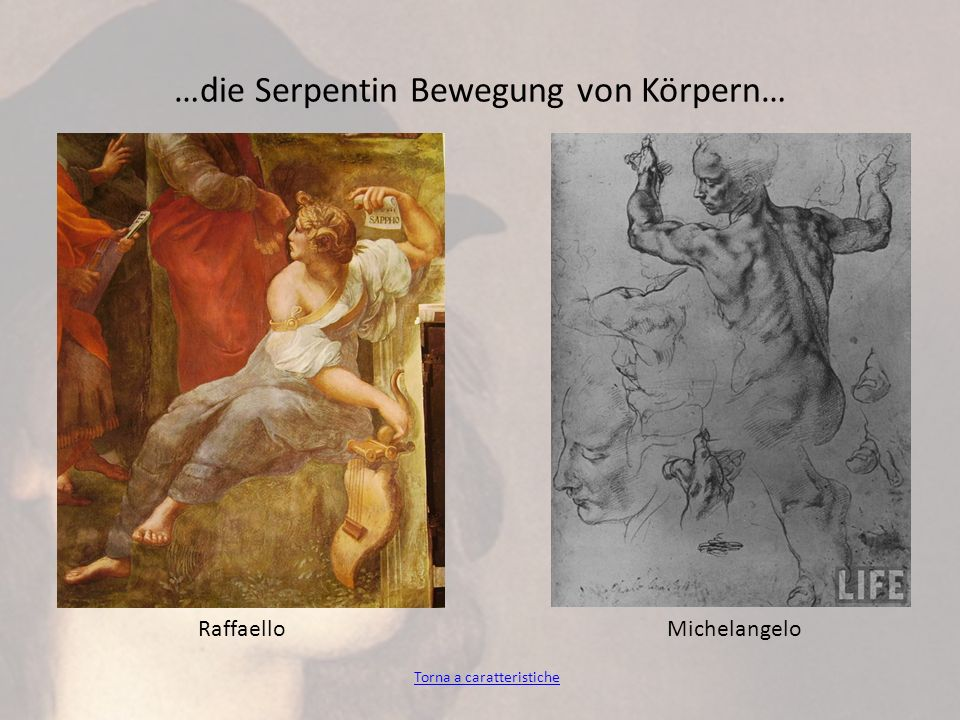 …die Serpentin Bewegung von Körpern…