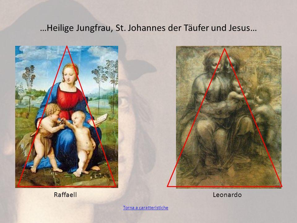 …Heilige Jungfrau, St. Johannes der Täufer und Jesus…