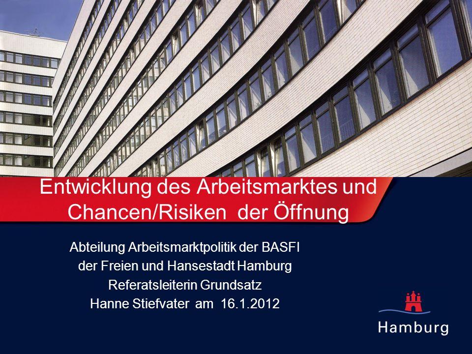 Entwicklung des Arbeitsmarktes und Chancen/Risiken der Öffnung