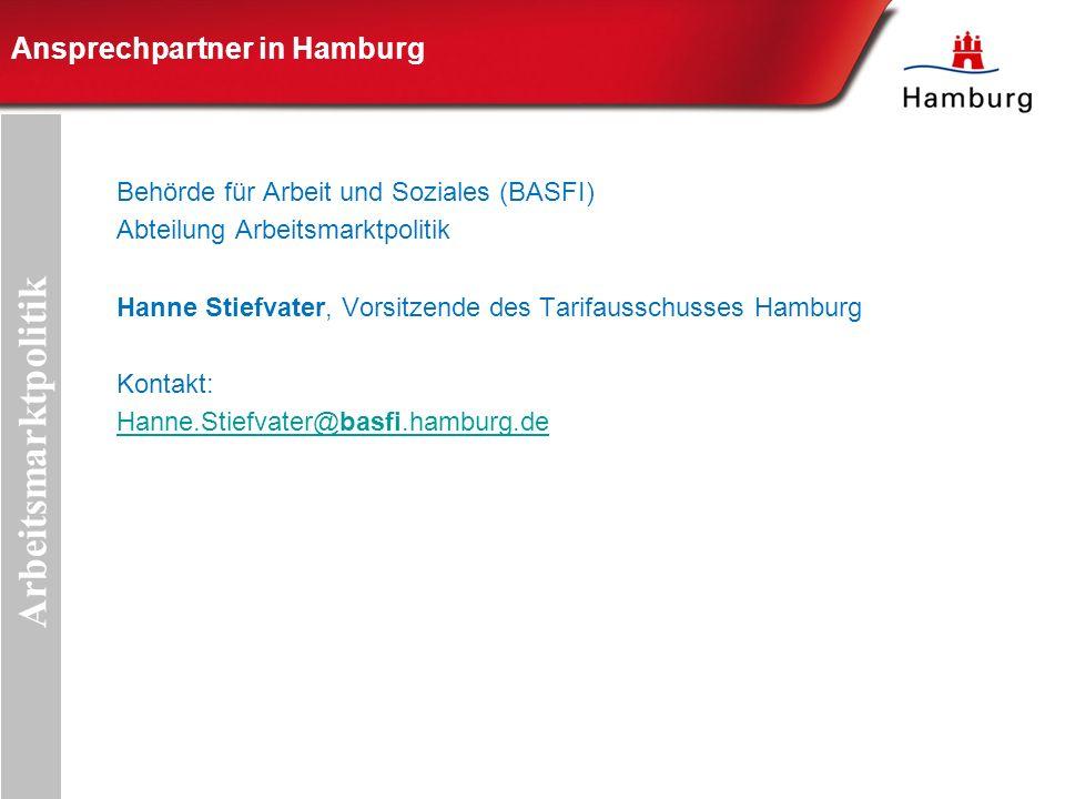 Ansprechpartner in Hamburg