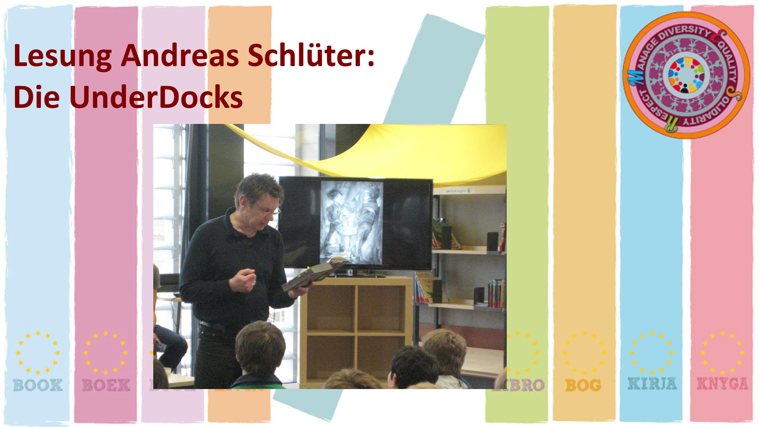 Lesung Andreas Schlüter: