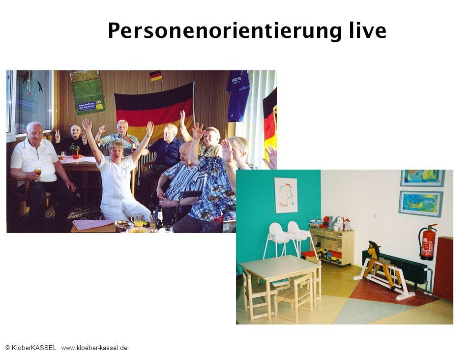 Personenorientierung live