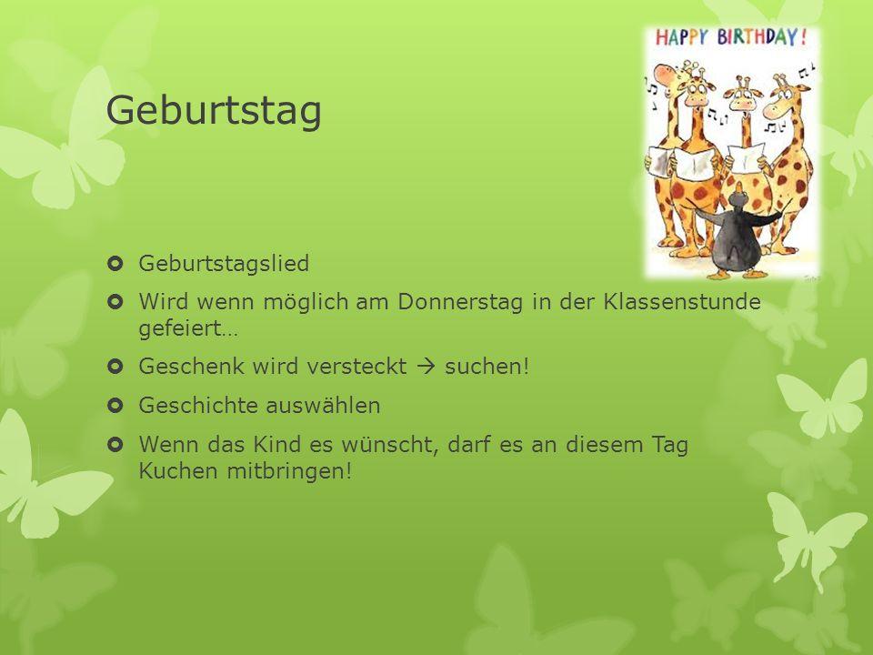 Geburtstag Geburtstagslied