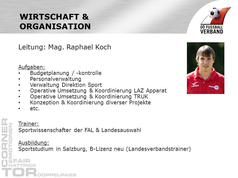 WIRTSCHAFT & ORGANISATION
