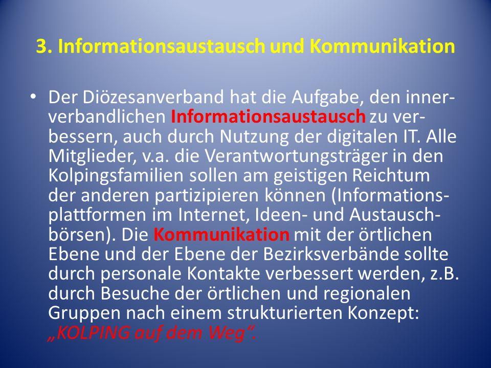 3. Informationsaustausch und Kommunikation