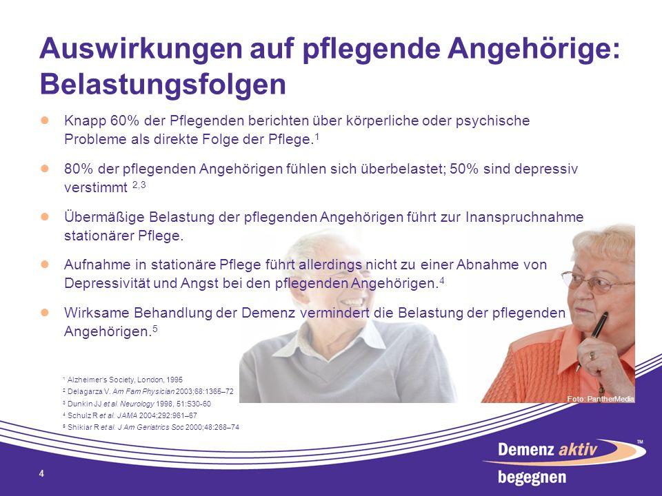 Auswirkungen auf pflegende Angehörige: Belastungsfolgen