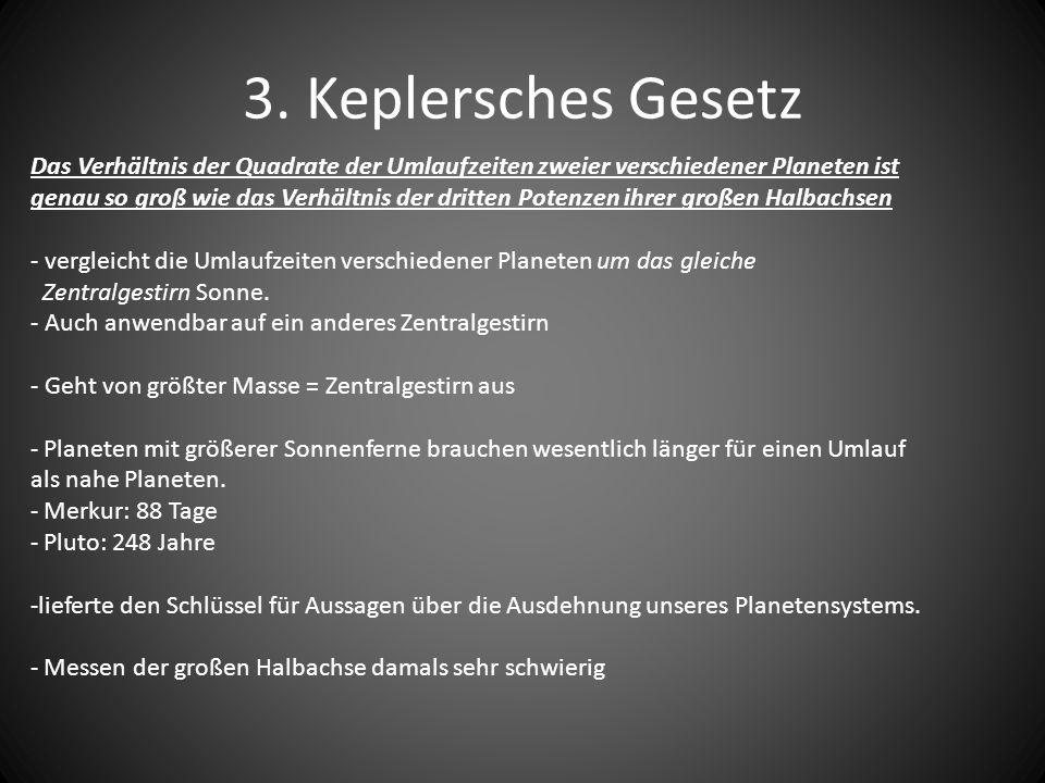 3. Keplersches Gesetz