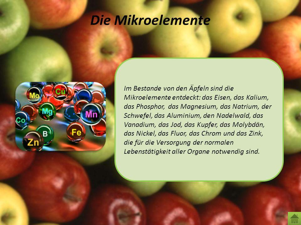 Die Mikroelemente