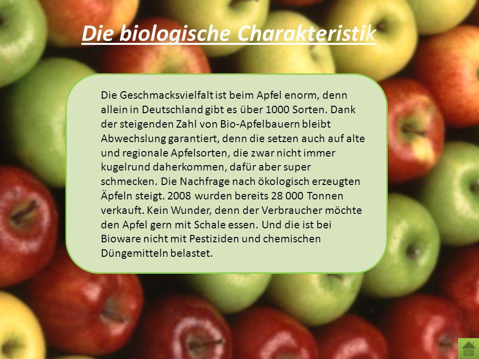 Die biologische Charakteristik