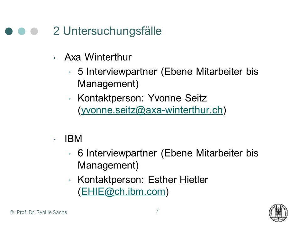 2 Untersuchungsfälle Axa Winterthur