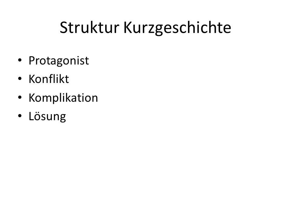 Struktur Kurzgeschichte