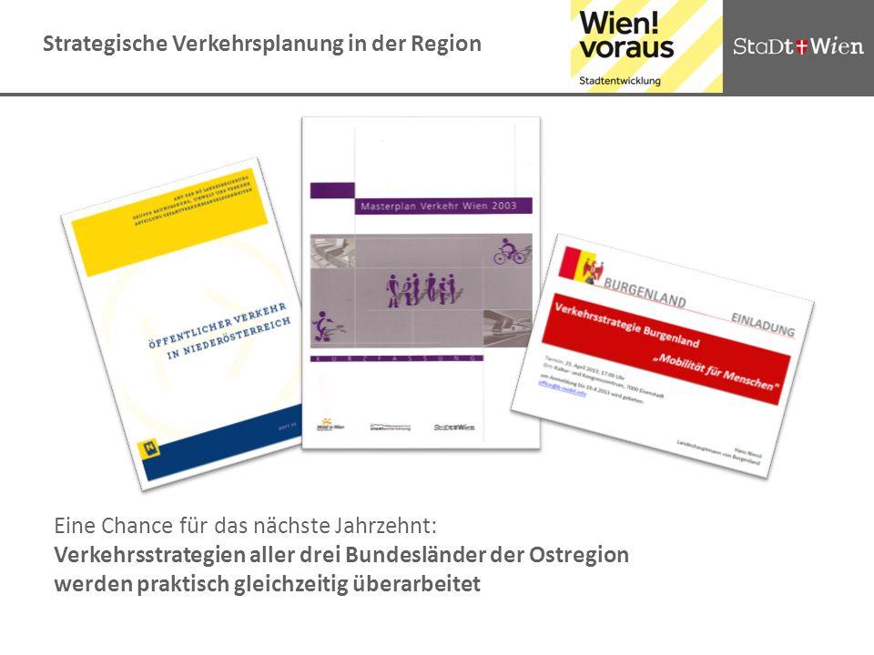 Strategische Verkehrsplanung in der Region