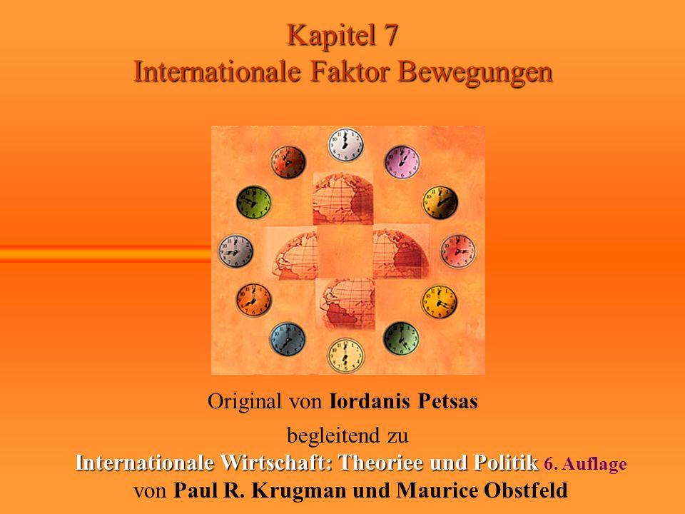 Internationale Wirtschaft: Theoriee und Politik 6. Auflage