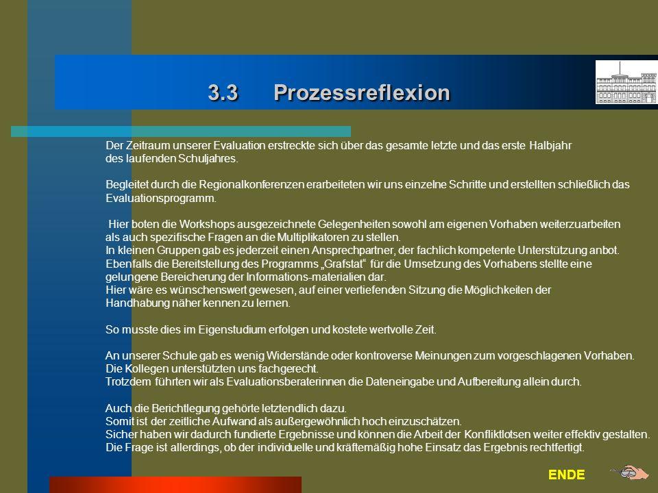 3.3 Prozessreflexion ENDE