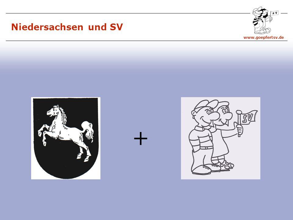 Niedersachsen und SV +