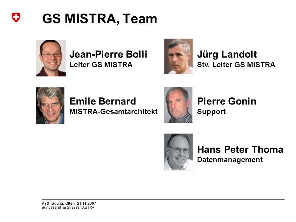 GS MISTRA, Team Jean-Pierre Bolli Jürg Landolt Emile Bernard