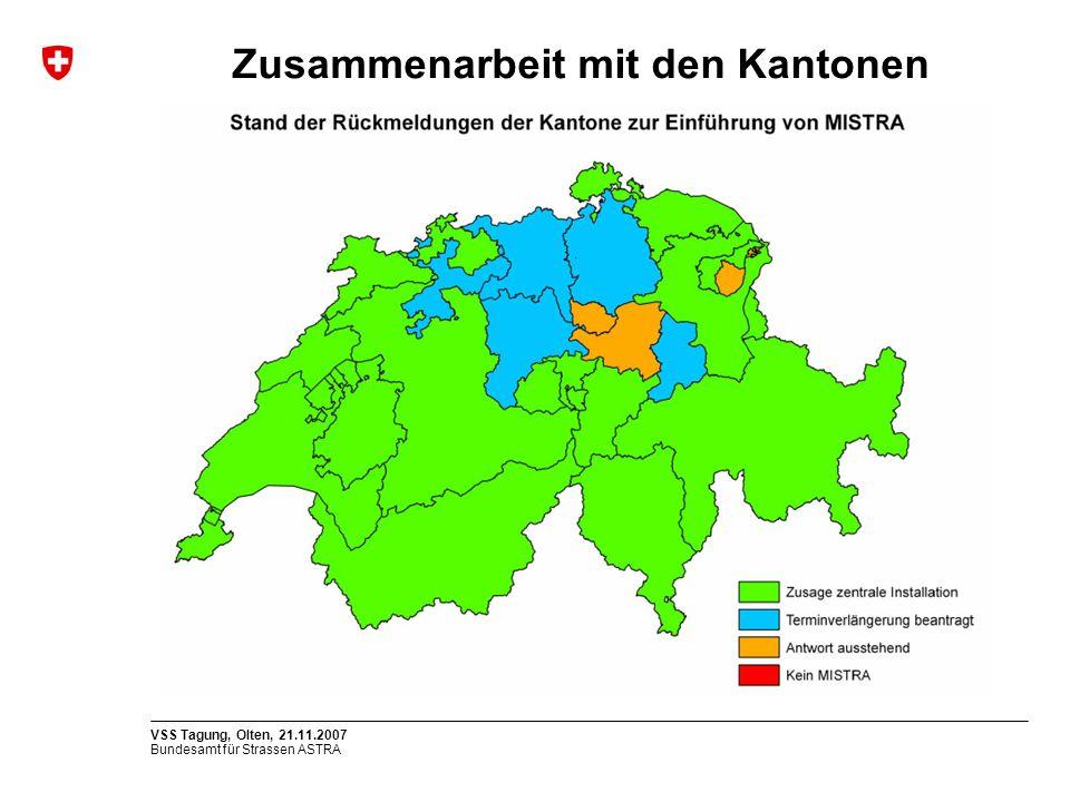 Zusammenarbeit mit den Kantonen