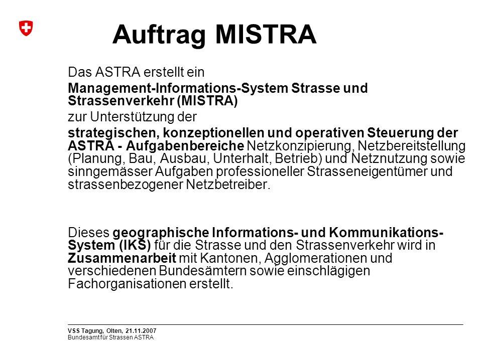 Auftrag MISTRA Das ASTRA erstellt ein