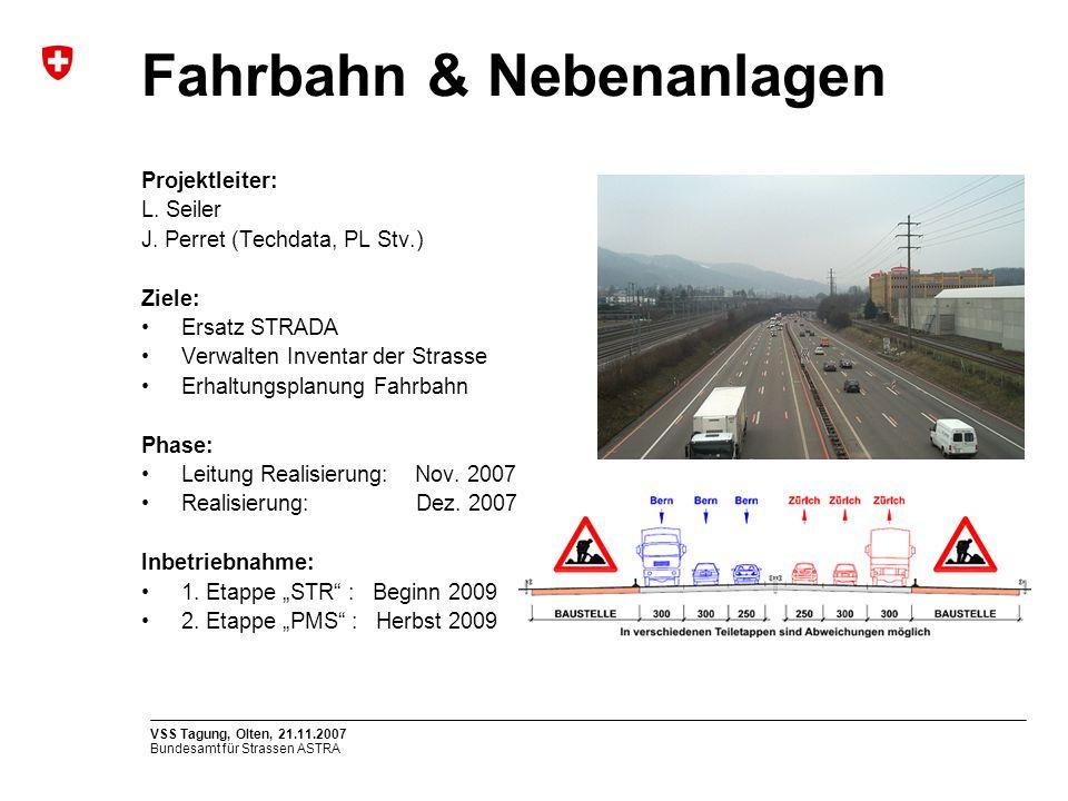 Fahrbahn & Nebenanlagen