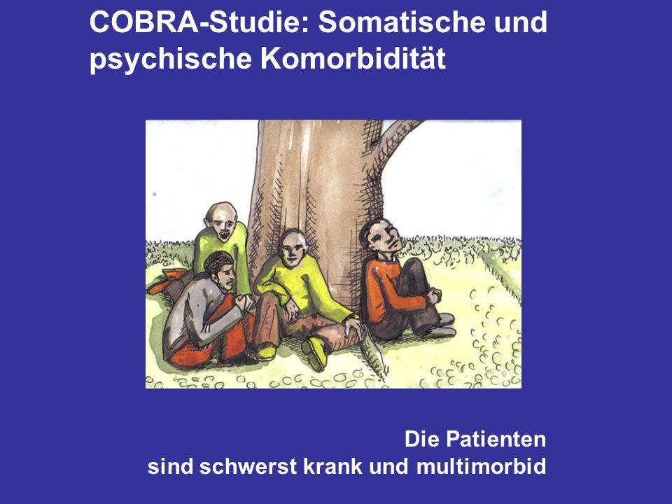 COBRA-Studie: Somatische und psychische Komorbidität