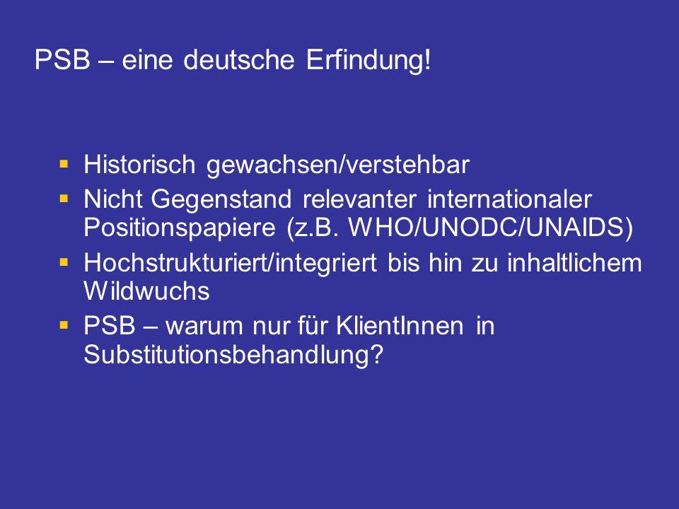 PSB – eine deutsche Erfindung!
