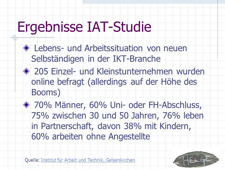 Ergebnisse IAT-Studie