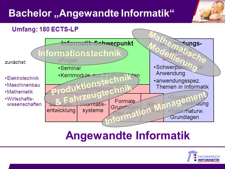 "Bachelor ""Angewandte Informatik"