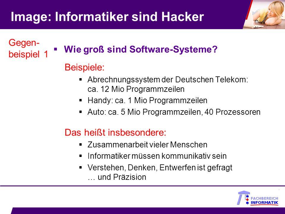 Image: Informatiker sind Hacker