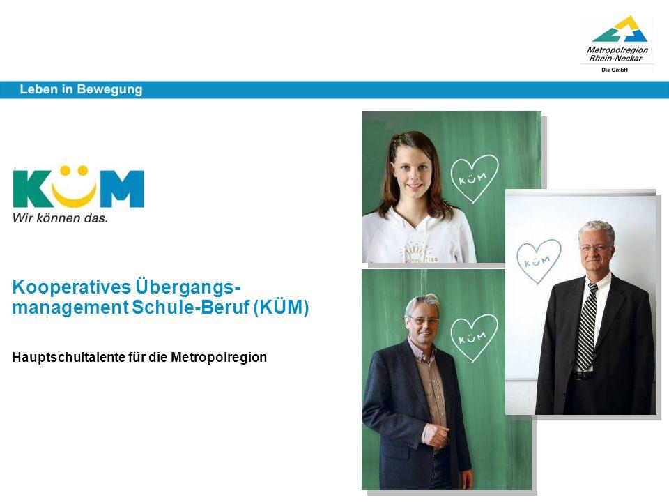 Kooperatives Übergangs- management Schule-Beruf (KÜM)