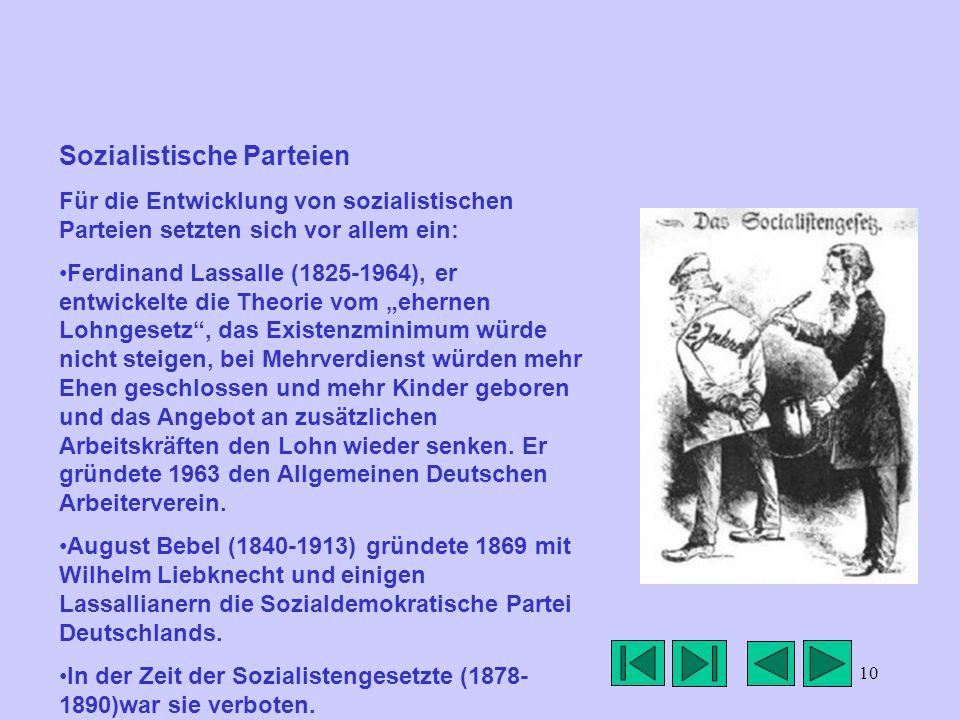 Sozialistische Parteien