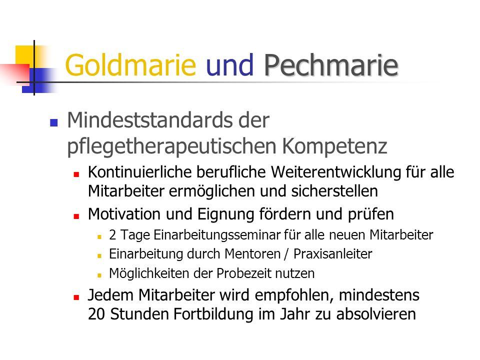 Goldmarie und Pechmarie